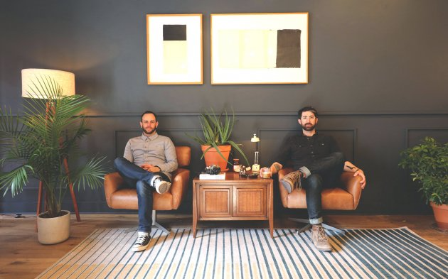 Barnfox co-founders Frederick Pikovsky (left) and Tim Tedesco (right). inline image