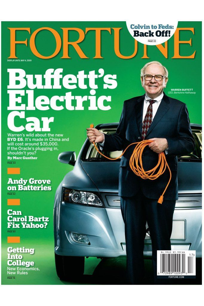 The April 27, 2009 cover of Fortune Magazine.